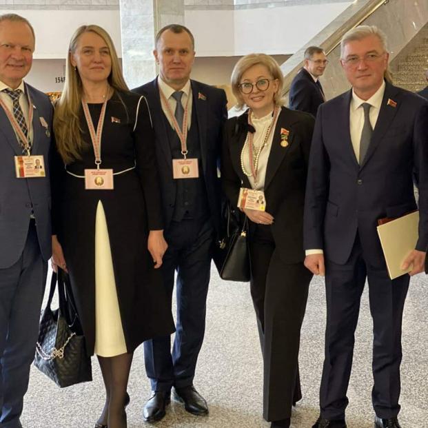 В числе делегатов Всебелорусского народного собрания